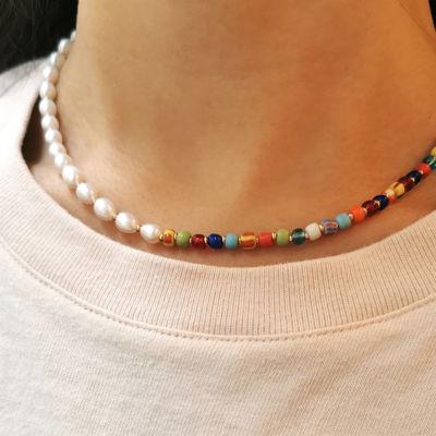 Caroline perle kæde