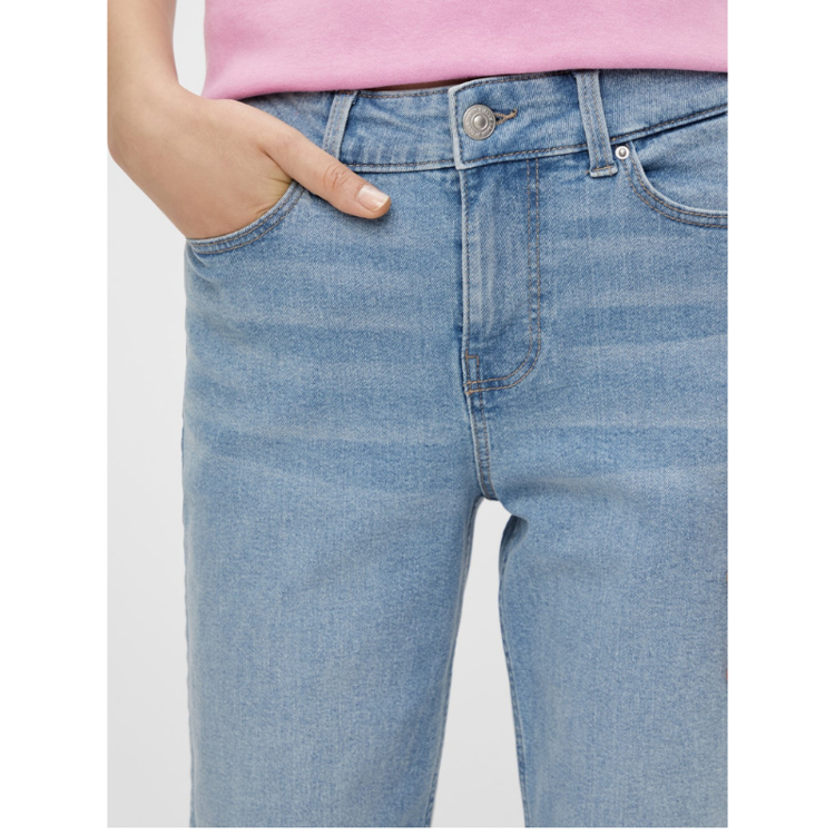 Pcluna straight jeans