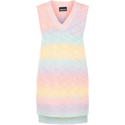 PCrainbow long knit vest d2d