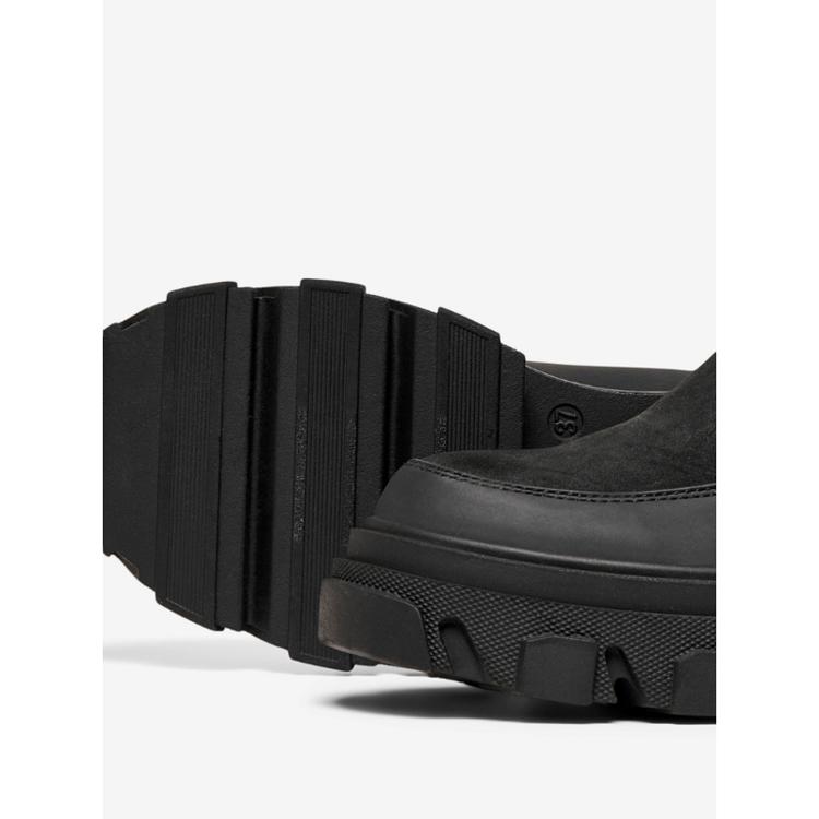 Onltola - nubuck chunky støvle